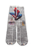 Art N Wordz Apparel Spiderman Spider Man Dictionary Pop Art Unisex Socks