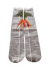 Artnwordz Apparel Carrots Dictionary Pop Art Unisex Socks