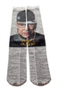Artnwordz Apparel RBG Ruth Bader Ginsburg Dictionary Pop Art Unisex Socks