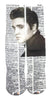 Artnwordz Apparel Elvis Presley Extra Professional-Exude Dictionary Pop Art Unisex Socks