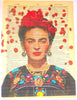 Art N Wordz Frida Kahlo Rose Petals Original Dictionary Sheet Pop Art Wall or Desk Art Print Poster