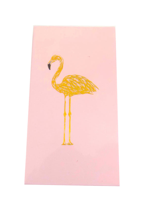 The Joy of Light Designer Matches Pink Flamingo Gold Foiled and Embossed Matte 4