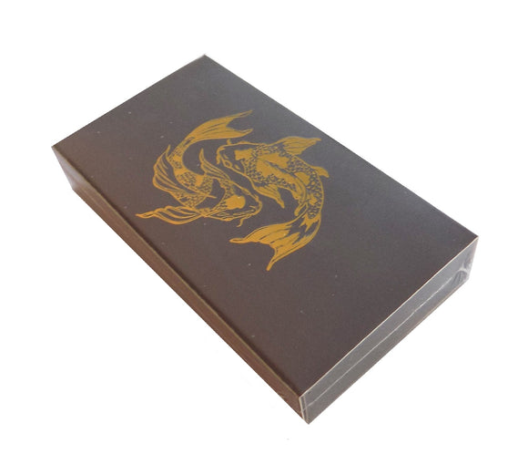 The Joy of Light Designer Matches Koi Fish on Embossed Matte 4