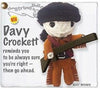 Kamibashi Davy Crockett The Original String Doll Gang Keychain Clip