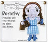 Kamibashi Wizard of Oz Dorothy The Original String Doll Gang Keychain Clip