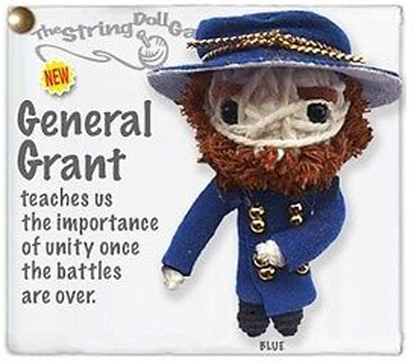 Kamibashi General Grant The Original String Doll Gang Keychain Clip