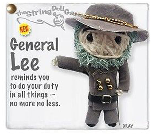 Kamibashi General Lee The Original String Doll Gang Keychain Clip