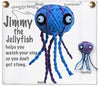Kamibashi Jimmy the Jellyfish The Original String Doll Gang Keychain Clip