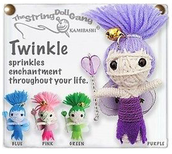 Kamibashi Twinkle the Fairy The Original String Doll Gang Keychain Clip