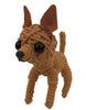 Kamibashi Chico Chihuahua The Original String Doll Gang Handmade Keychain Toy & Clip