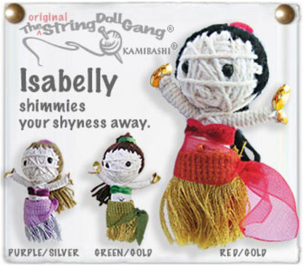 Kamibashi Isabelly The Original String Doll Gang Handmade Keychain Toy & Clip