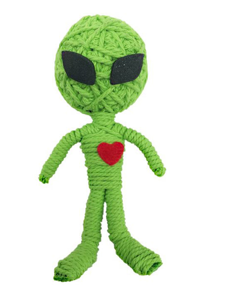 Kamibashi Marty the Alien The Original String Doll Gang Handmade Keychain Toy & Clip