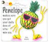 Kamibashi Penelope the Pineapple The Original String Doll Gang Keychain Clip
