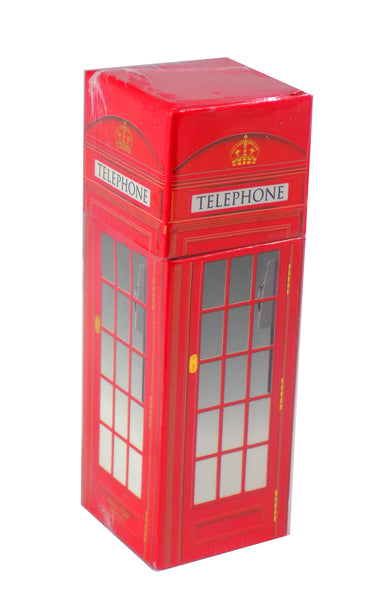 "The Joy of Light Designer Matches Red London Telephone Booth Embossed Matte 4.5"" Collectible Matchbox"