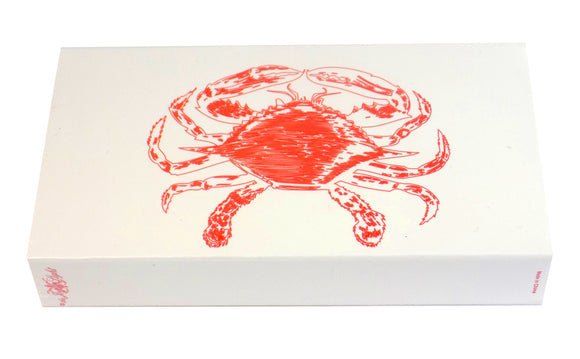 The Joy of Light Designer Matches Red Crab on White Embossed 4