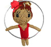 Kamibashi Skydancer Hoops The Original String Doll Gang Keychain Clip