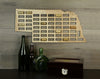 Wine Cork Traps State of Nebraska Wooden Wine Cork Holder Organizer Wall Decoration