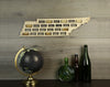 Wine Cork Traps State of Tennessee Wooden Wine Cork Holder Organizer Wall Decoration