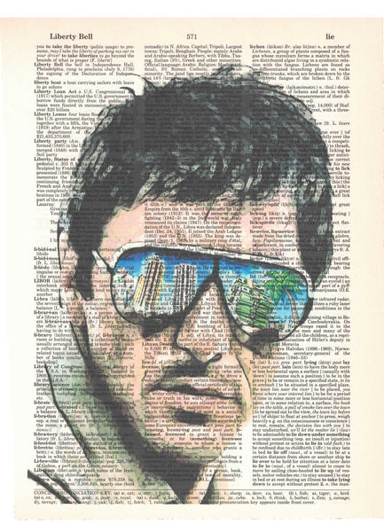 Art N Wordz Al Pacino Dictionary Page Pop Art Wall or Desk Art Print Poster