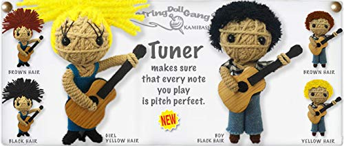 Kamibashi Tuner Guitar Player Boy The Original String Doll Gang Keychain Clip