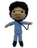 Kamibashi Scrubs The Doctor Boy Original String Doll Gang Handmade Keychain Toy & Clip