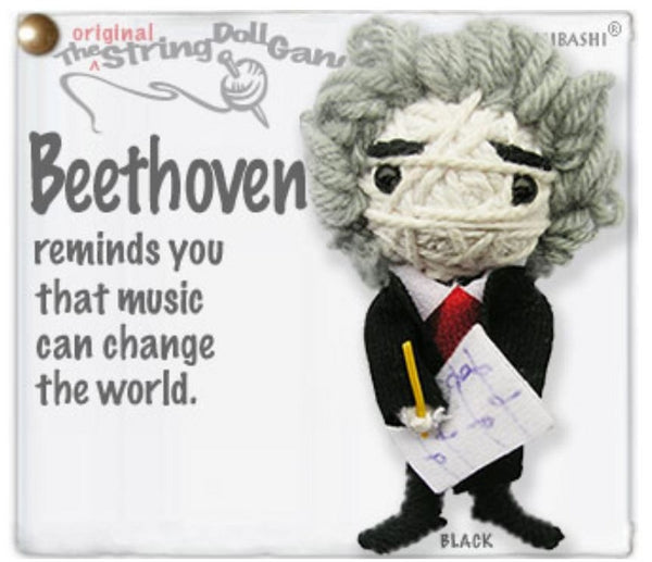 Kamibashi Beethoven The Original String Doll Gang Keychain Clip
