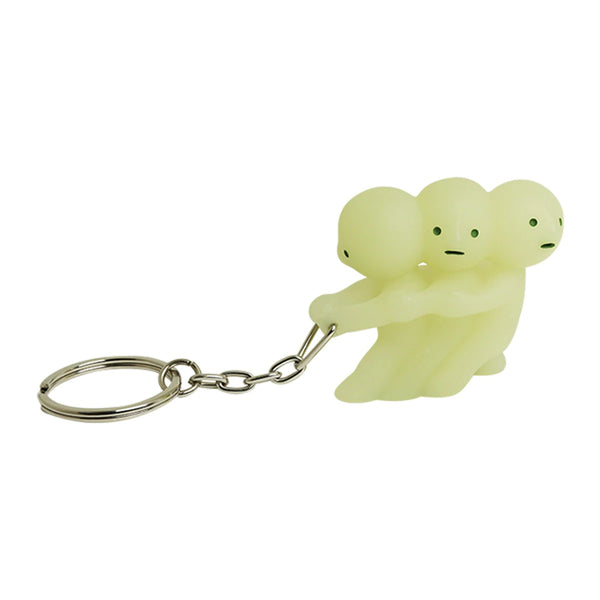 Smiski Glow In The Dark Pulling Keychain