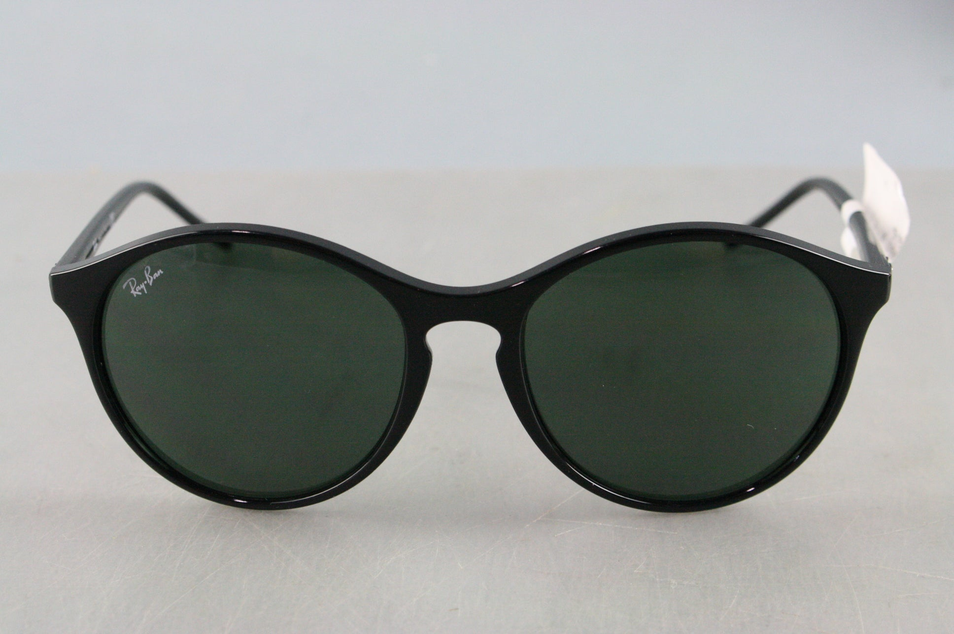 NEW Ray Ban Highstreet Women Sunglasses RB4371 601/71 55 Black / Green Classic