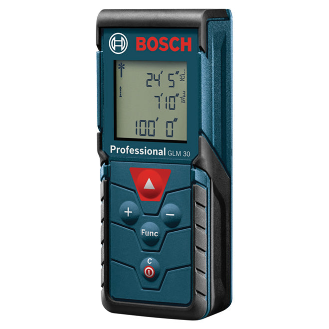 BOSCH BLAZE GLM 30 100FT LASER MEASURE NEW