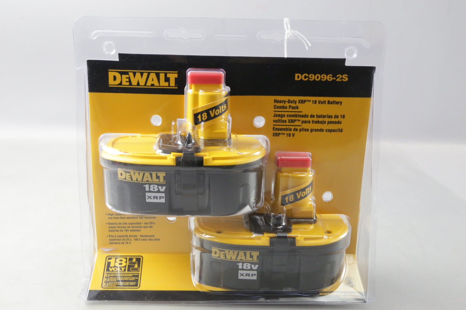 DeWALT DC9096-2S 18-Volt XRP NiCd Extended Runtime 2.4 Ah Battery (2-Pack)