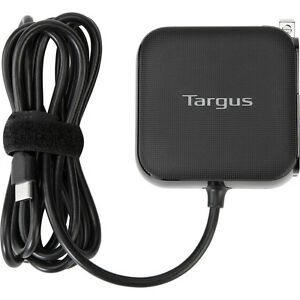 Targus 65W USB Type-C Laptop Wall Charger 4ft/1.2m - Model APA104BT