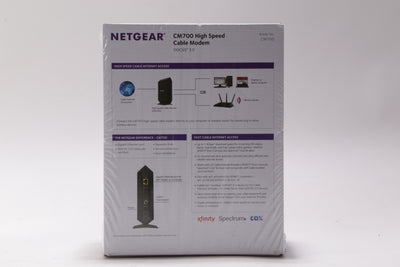 Brand New Netgear CM700 DOCSIS 3.0 High Speed Cable Modem CM700-100NAS