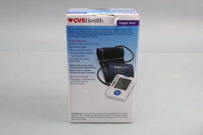 Upper Arm Blood Pressure Monitor Series 100 by CVS Health - NEW IN BOX