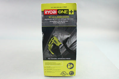 "RYOBI One+ 18V 3/8"" Crown Stapler Model P317"