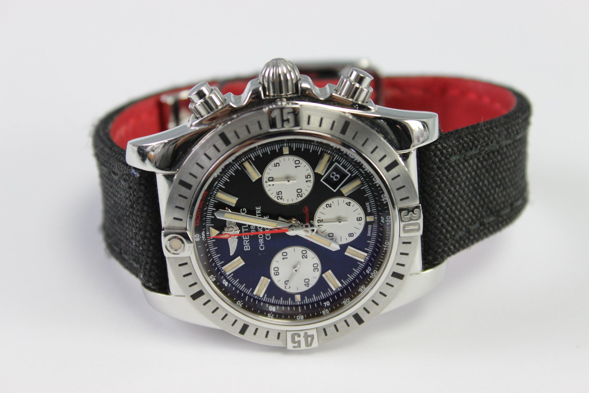 Breitling AB0115 Special Edition 30E Anniversary Automatic Chronomat Watch 44mm