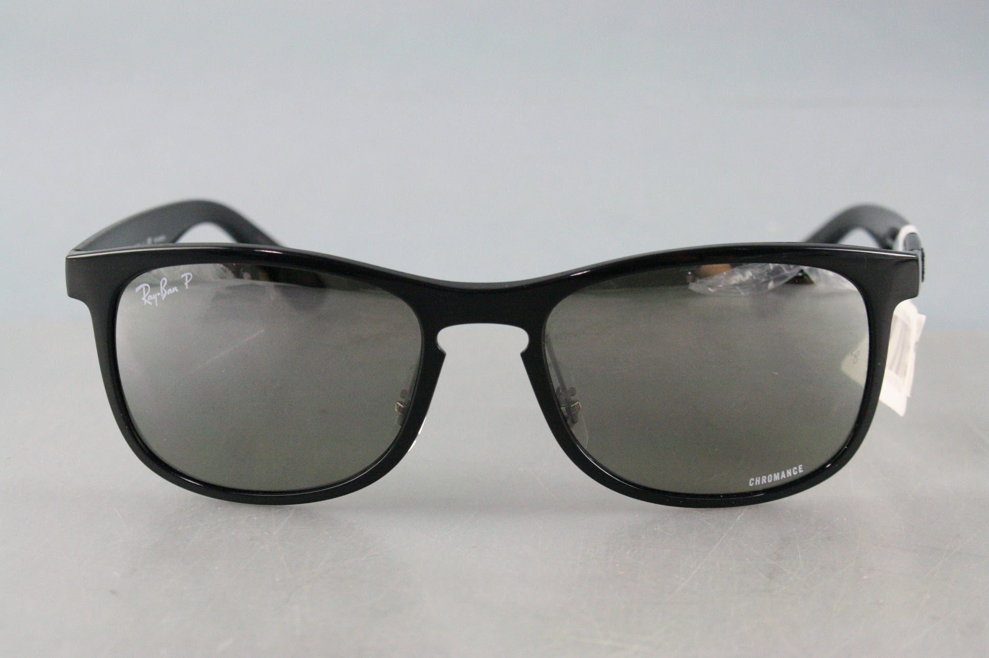 NEW Ray Ban Chromance 4263 Black Silver Mirror Polarized RB4263 601/5J 55-18