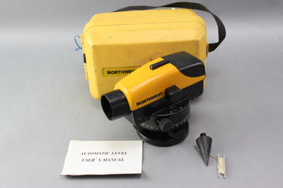 Northwest Instrument NCLP32 32x Contractors Automatic Level W/ Case