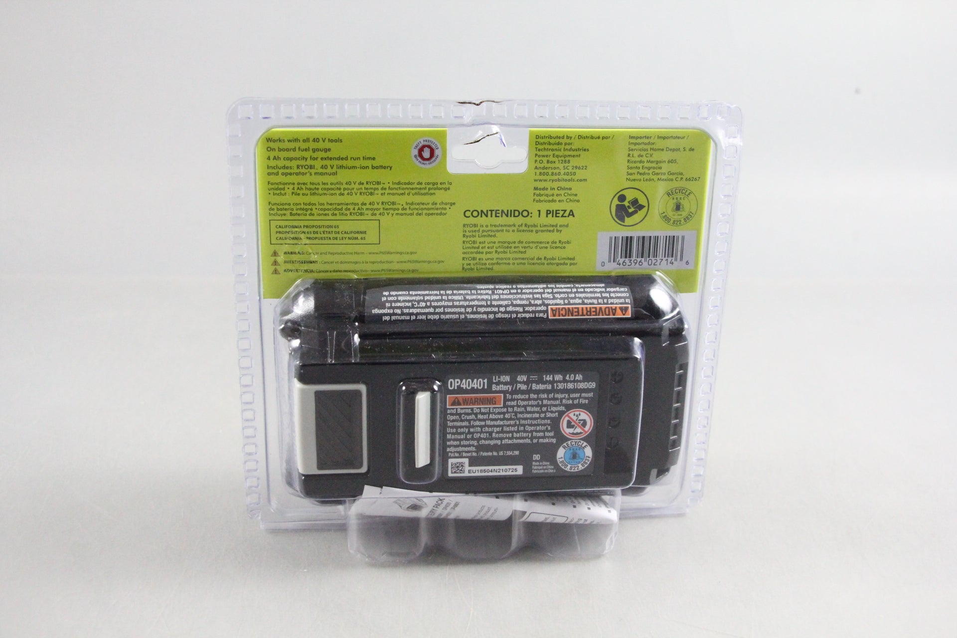 Ryobi OP40401 40V Lithium-Ion 4Ah High Capacity Battery *NEW*