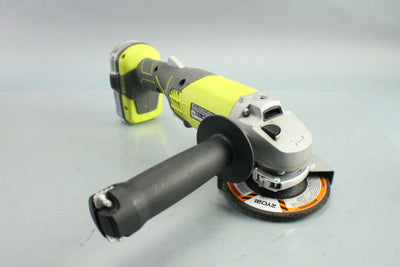 "Ryobi P4221 18V Cordless 4 1/2"" Angle Grinder W/ 24 WH Battery & Charger"