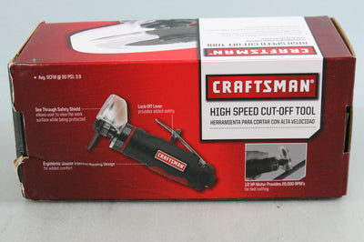 NEW Craftsman 9-19953 High Speed Cut Off Tool, 1/2 HP Motor w 20,000 RPMs