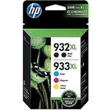 HP 932XL/933XL Combo Pack Ink Cartridges - Exp. June 2020