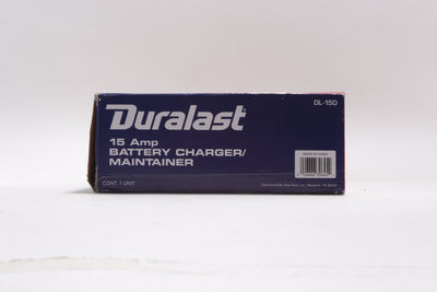 NEW Duralast 15 Amp 6/12 Volt Marine Charger/Maintainer - DL-15D