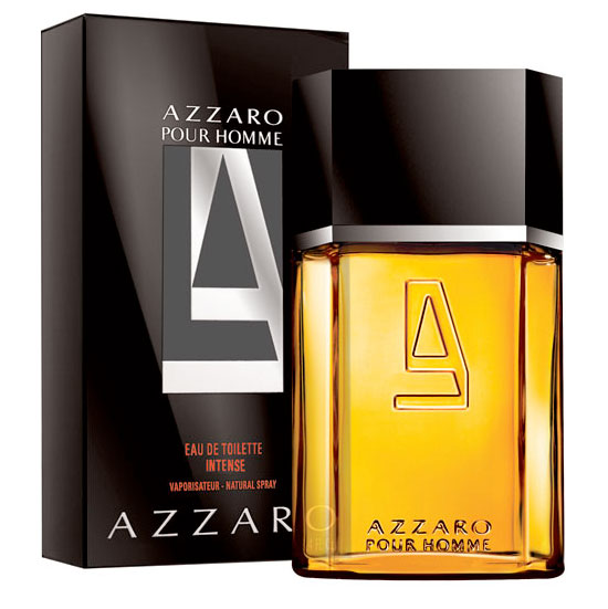 Azzaro Intense Pour Homme EDT Spray 3.4 Fl Oz -Sealed