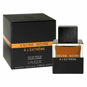 Encre Noire A L extreme Cologne By Lalique Eau De Parfum Spray for Men 3.3 oz