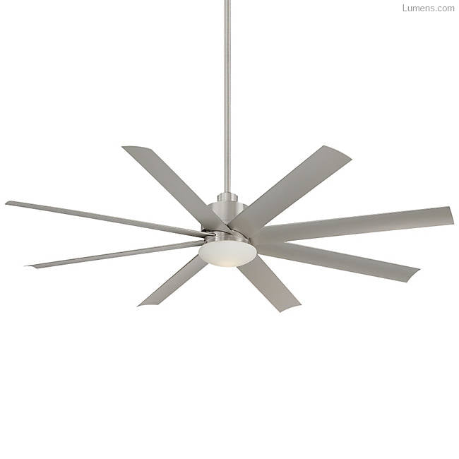 "Minka Aire Slipstream (Wet Location) 65"" Ceiling Fan - Brushed Nickel"