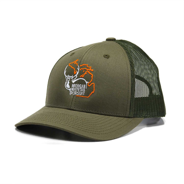 Military Green MWP Trucker Cap