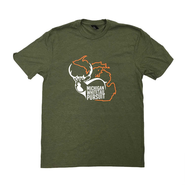 Men's Military Green T-shirt
