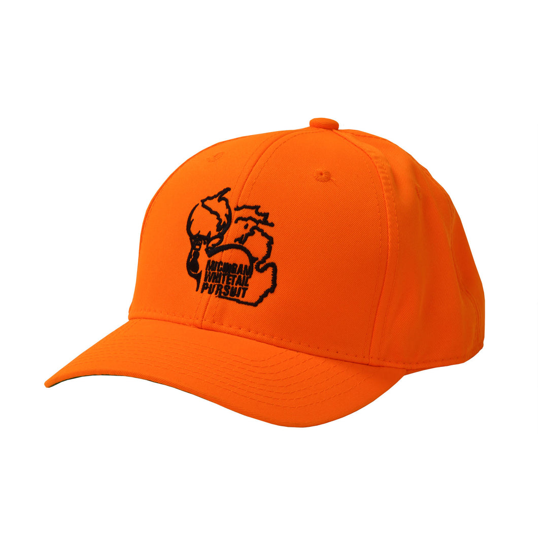 Hunter Orange MWP Snapback Cap