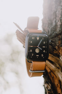 Torne Apple Watch Leather Strap 44/42 and 40/38 mm + Free 🚚