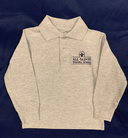 Early Childhood Long Sleeve Polo
